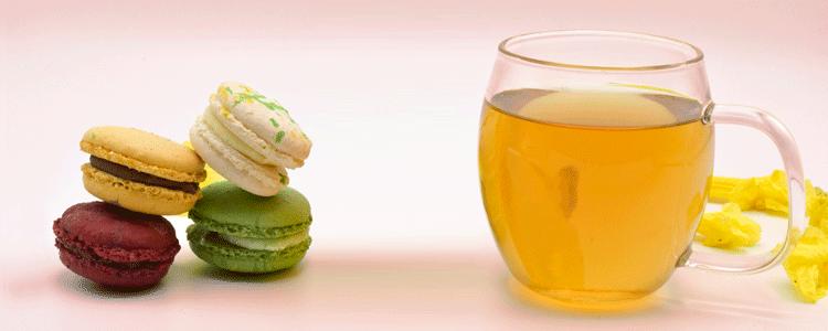 El té y el macaron