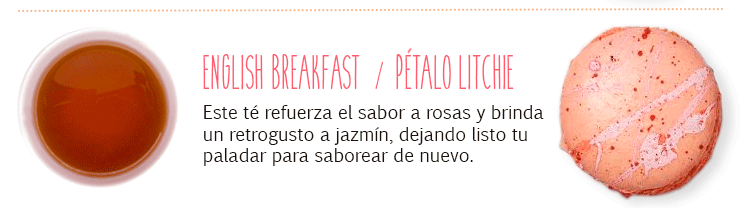 Maridaje con English Breakfast