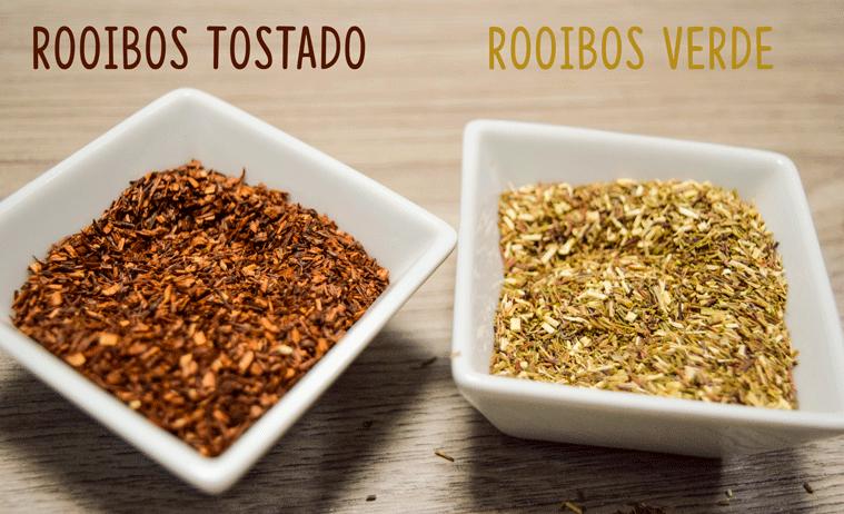 Diferencia entre Rooibos y rooibos verde