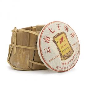 Wuchi sheng puerh cake 390g 2012