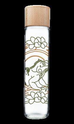 Botella Iguana oro