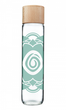 Botella Mandala azul