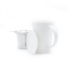 Taza Ceramica Blanca