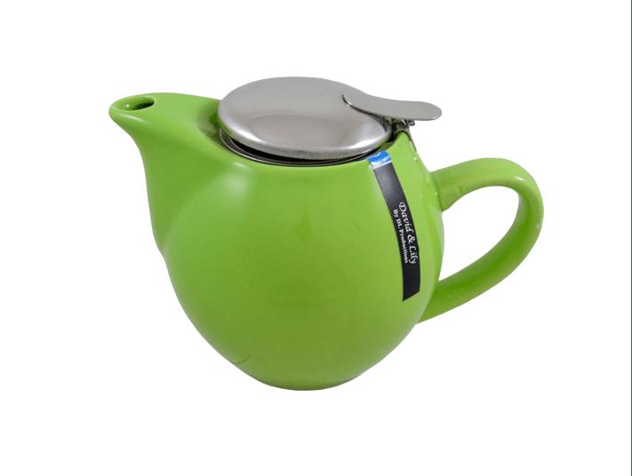 Tetera Curvy verde