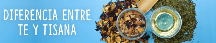 La diferencia entre té y tisanas